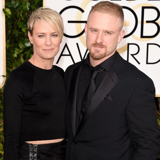 Robin Wright and Ben Foster at the Golden Globe Awards 2015