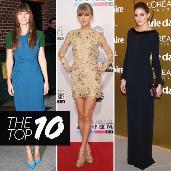 Top Ten Best Dressed of the Week: Taylor, Olivia, Jessica & More