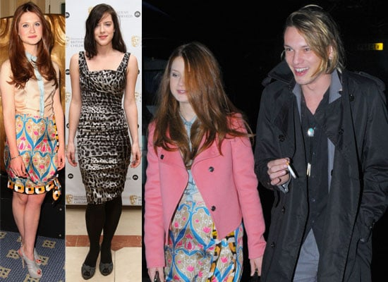 Photos of Bonnie Wright and Jamie Campbell Bower Leaving the Children's BAFTA Awards Together, Richard Hammond Wins BAFTA