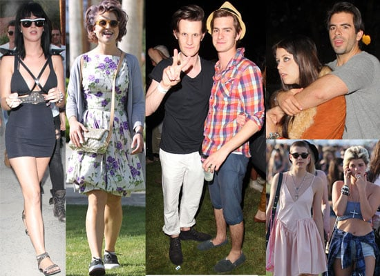 Photos of Celebrities at Coachella 2010