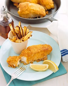 Fast & Easy Dinner: Fish and Chips