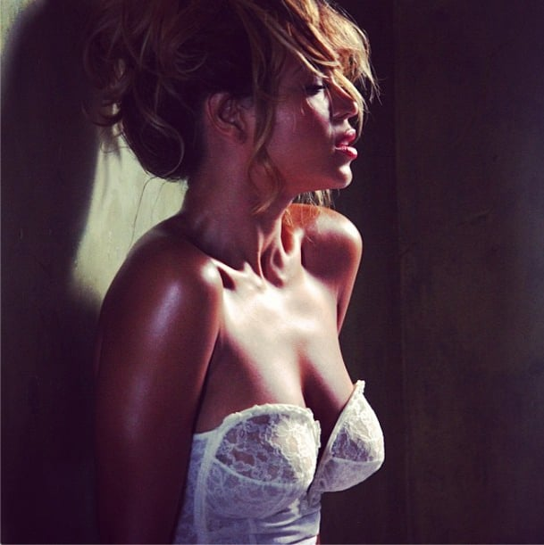 Beyoncé's #TBTs, on the other hand, are a bit more glamorous. Source: Instagram user beyonce