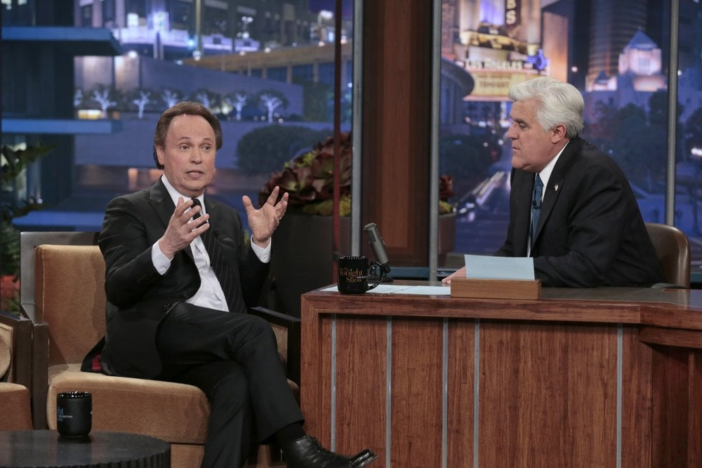 Billy Crystal bade farewell to Jay Leno.
