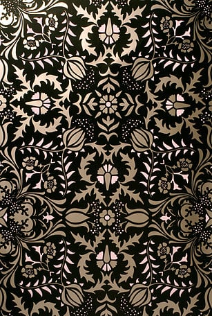 Simply Fab: Flavor Paper Handscreened Wallpaper
