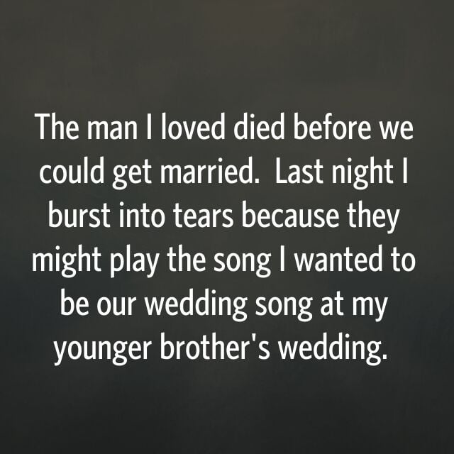 This confession would break anyone's heart.