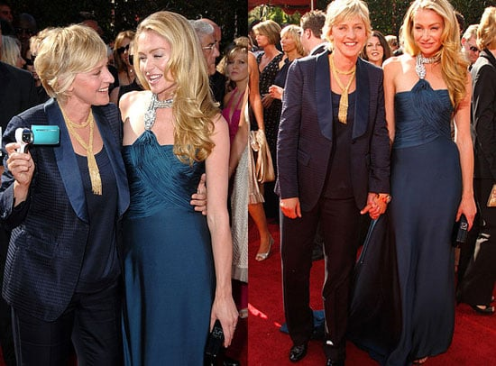 Primetime Emmy Awards: Ellen DeGeneres & Portia de Rossi