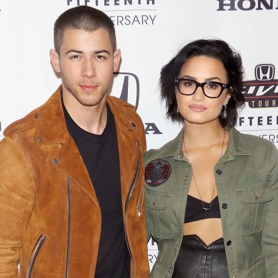 Demi Lovato and Nick Jonas at Honda Event March 2016