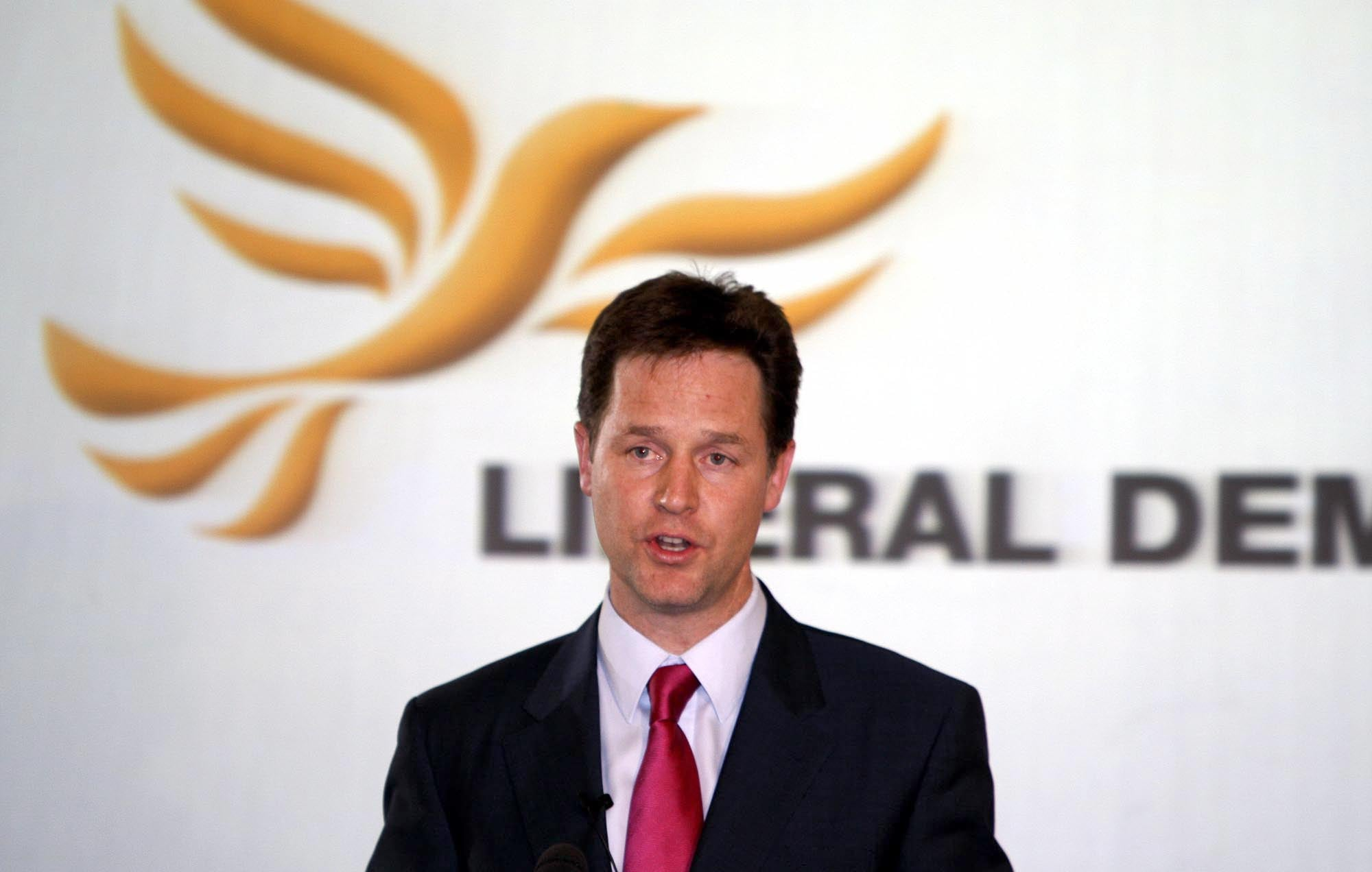 Is Nick Clegg the new Princess Diana