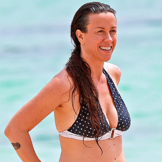 Alanis Morissette in a Bikini in Hawaii | May 2014