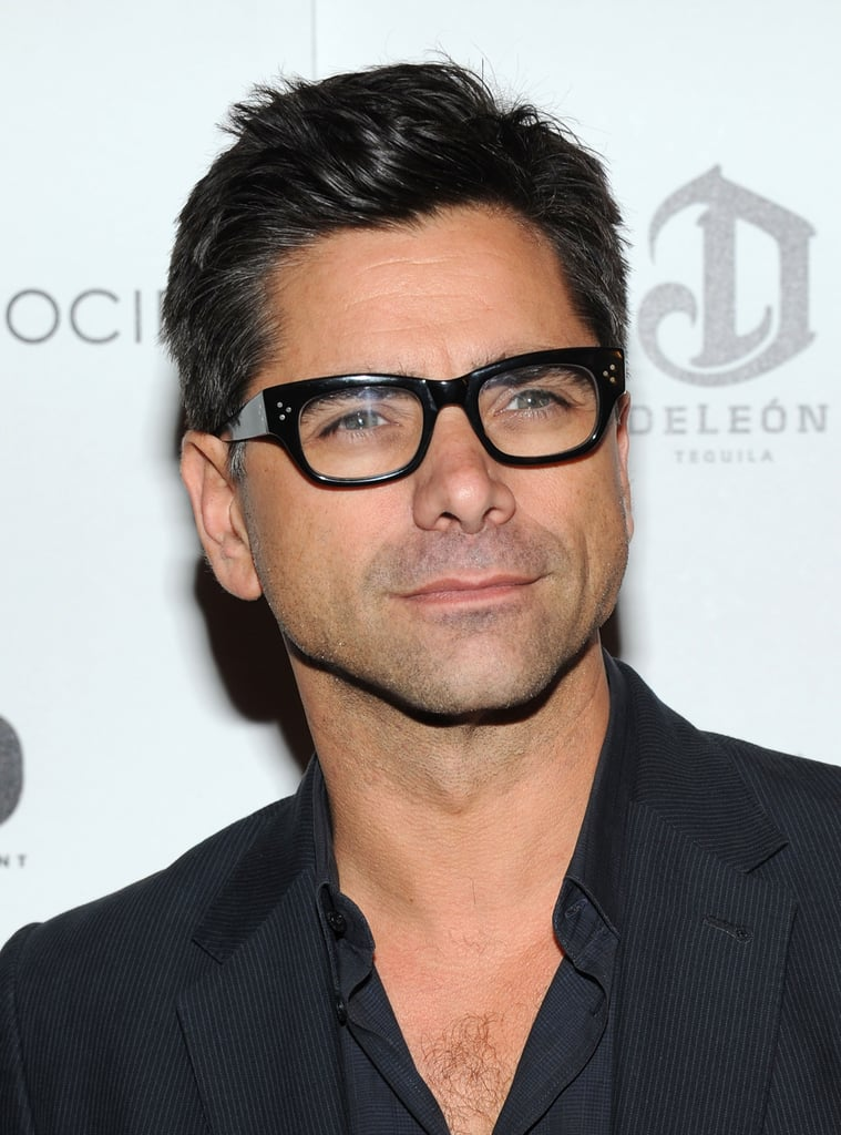 John Stamos wore glasses to the screening of Killer Joe in NYC.