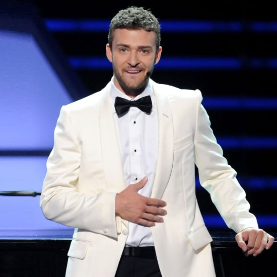 Justin Timberlake Wearing a Suit and Tie   Pictures