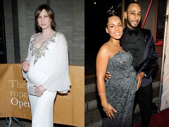 Pictures of Alicia Keys and Vera Farmiga Pregnant