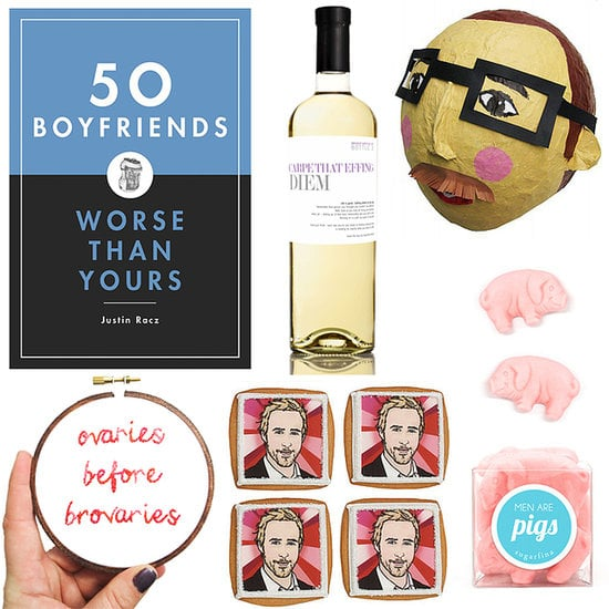 Did you know that breakups are most common during the holiday season? It's sucky but true. If you have a friend who's going through the hard time, then get her one of these awesome, sometimes-silly gifts. Whether she's the dumper or the dumpee, the finds will put a bandage on her heart and a smile on her face.