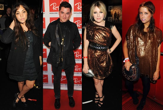 Pictures of Celebs at Ray-Ban Party at Scala in London Including Peaches Geldof, Little Boots, Kevin Spacey