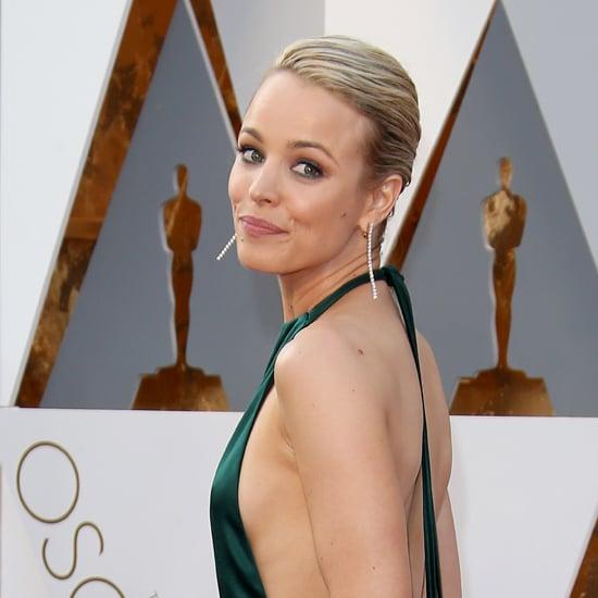 Rachel McAdams August Getty Dress Oscars 2016