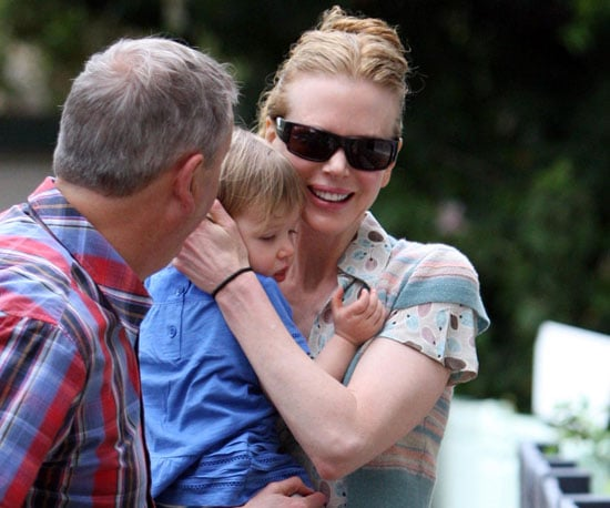 Slide Photo of Nicole Kidman With Sunday Rose in Sydney