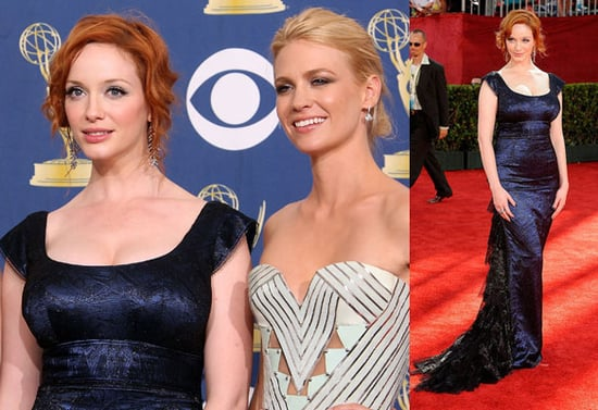 January Jones Is Mad For Christina Hendricks's Curves