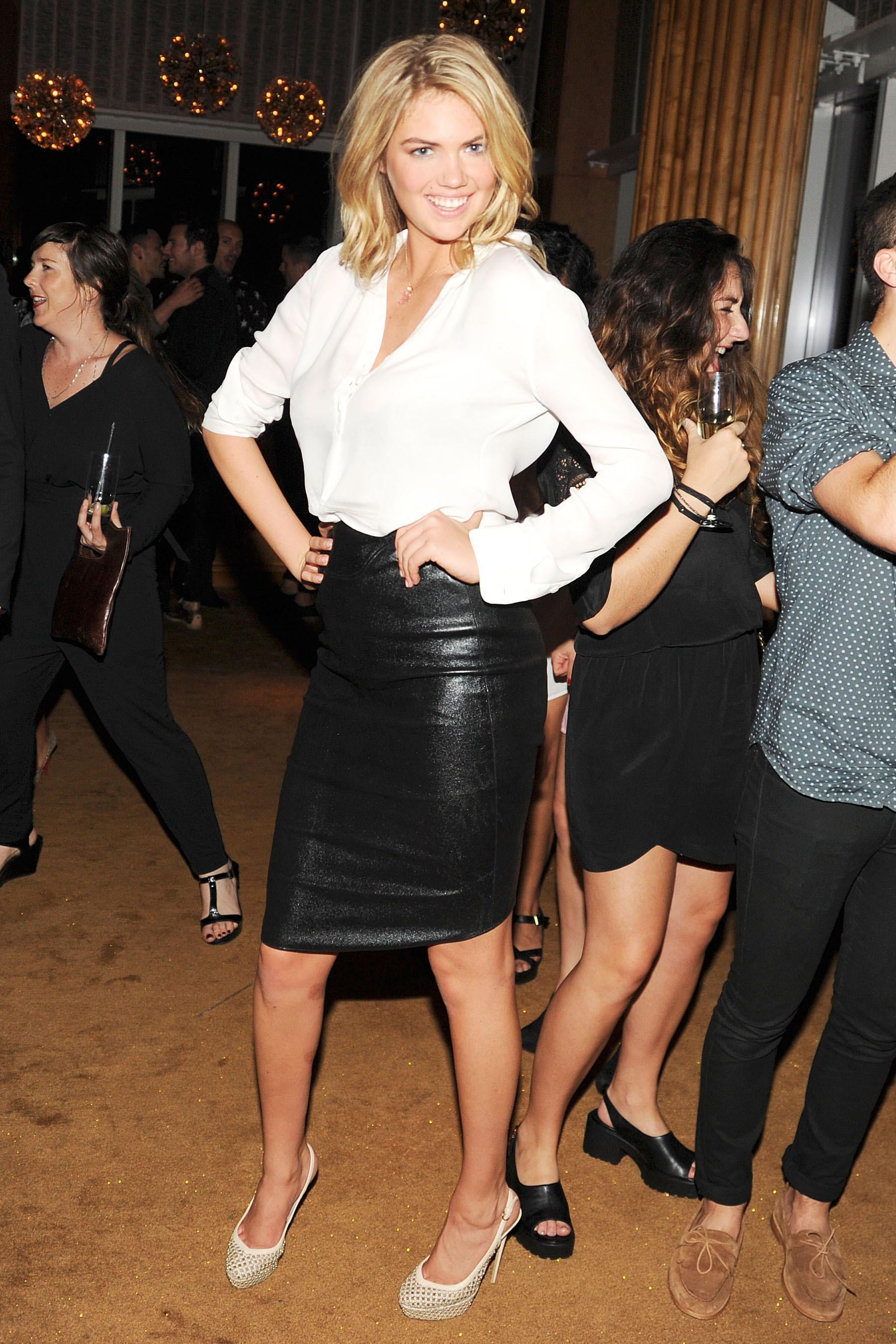 Kate Upton at the 2013 Swarovski-hosted CFDA Awards afterparty at The Top of the Standard, NYC. Source: Billy Farrell/BFAnyc.com