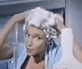 Beauty Flashback: Dandruff Disaster