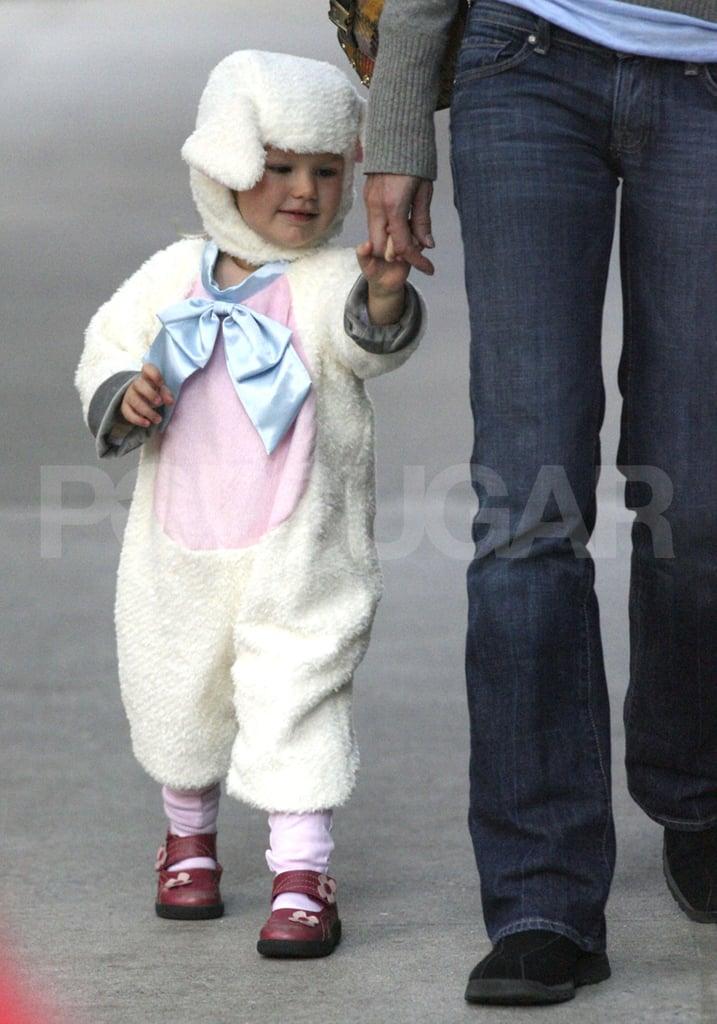 Jen Has a Little Lamb