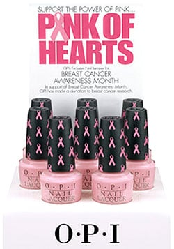Think Pink: OPI Pink of Hearts Nail Lacquer