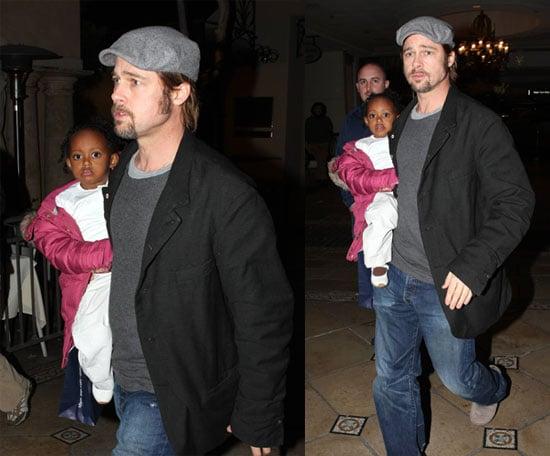 Brad and Zahara in LA