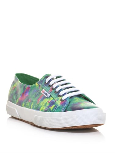 Superga X House Of Holland Tie-dye print 2750 trainers