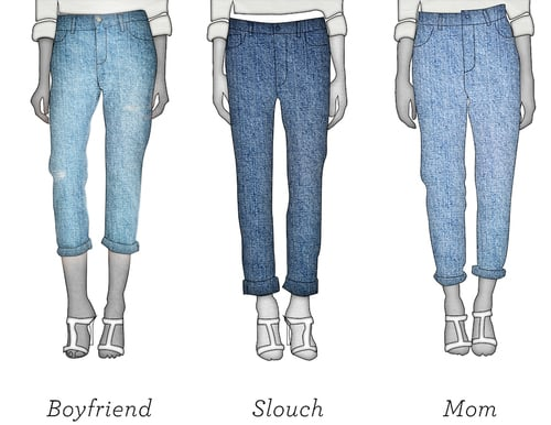 Not Your 'Boyfriend' Nor Your 'Mom': Meet the Slouch Jean
