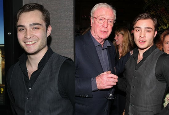 Photos of Ed Westwick Out in NYC