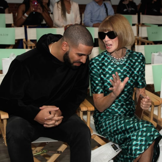 Drake and Anna Wintour NYFW Pictures