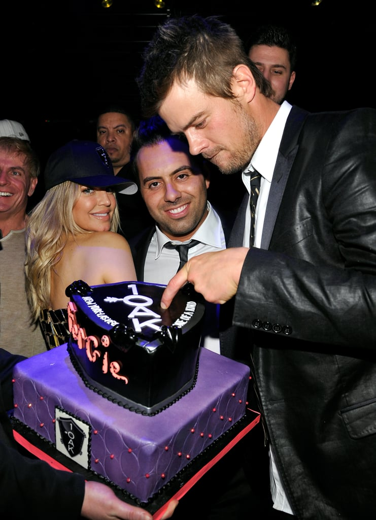 Josh Duhamel joked around at Fergie's 2012 New Year's Eve party in Las Vegas.