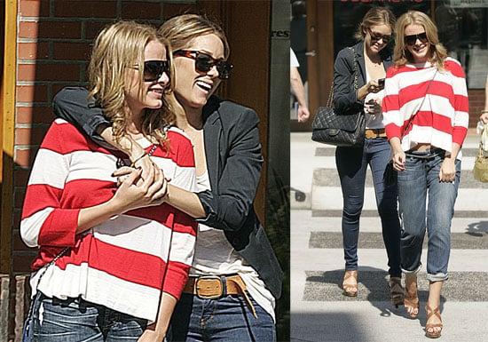 Photos of Lauren Conrad and Lo Bosworth in LA
