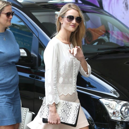 Celebrities Wearing Lace in Cannes