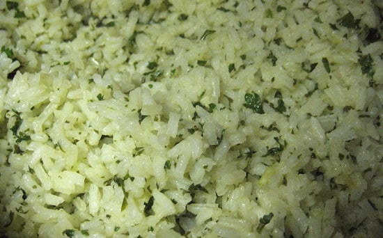Give white rice a kick in the pants with a super simple cilantro-lime rice recipe.