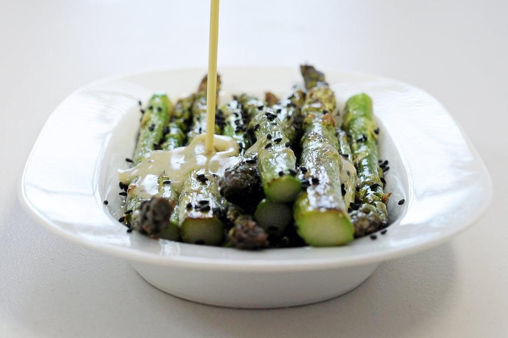Grilled Wasabi Asparagus