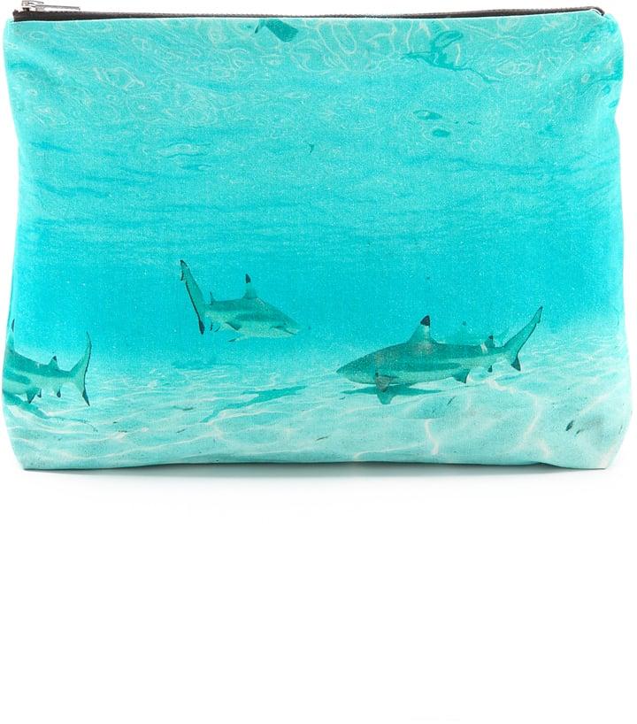 Samudra Moorea Shark Pouch ($65)