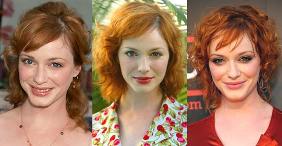 Which Shade of Red Do You Like Best on Christina Hendricks?