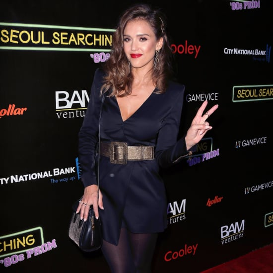 Jessica Alba's Accessories at Seoul Searching Premiere