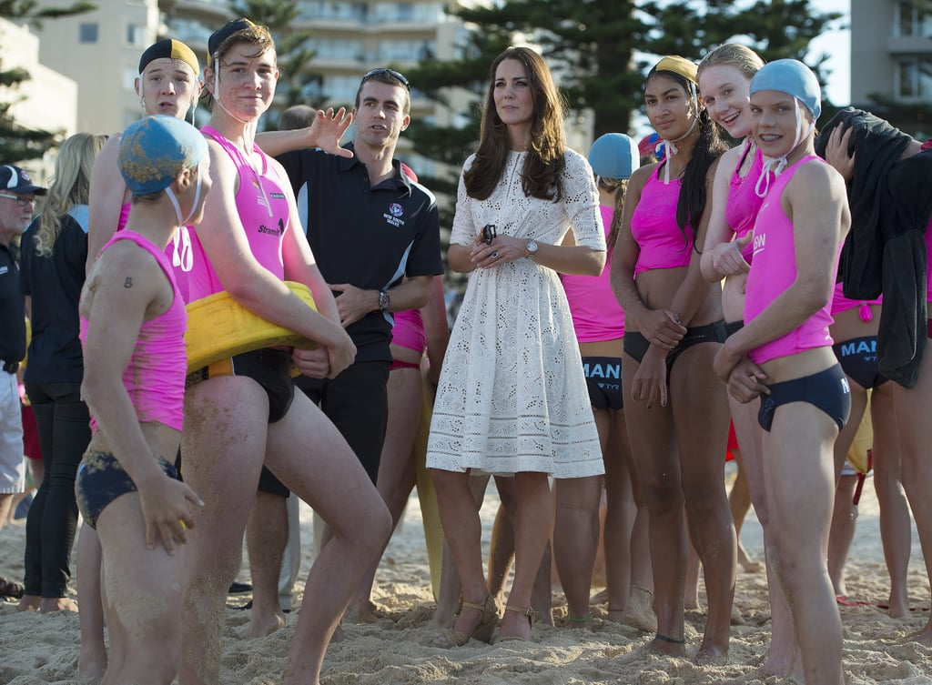 The Royal Couple Trade Fred the Ram For a Day at the Beach