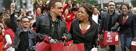 Bono and Oprah Do the (RED) Thing
