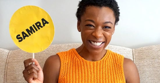 """We Played """"Samira Or Poussey"""" With Samira Wiley And It Was Hella Cute"""