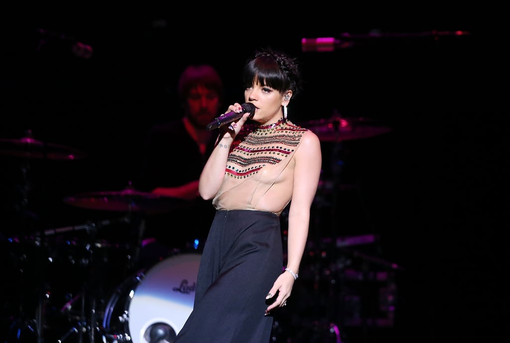 We've Never Seen Lily Allen Like This Before