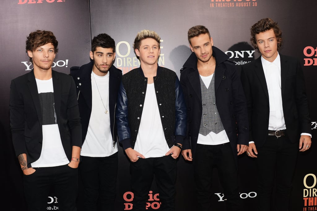 One Direction sported coordinating outfits for their NYC movie premiere.