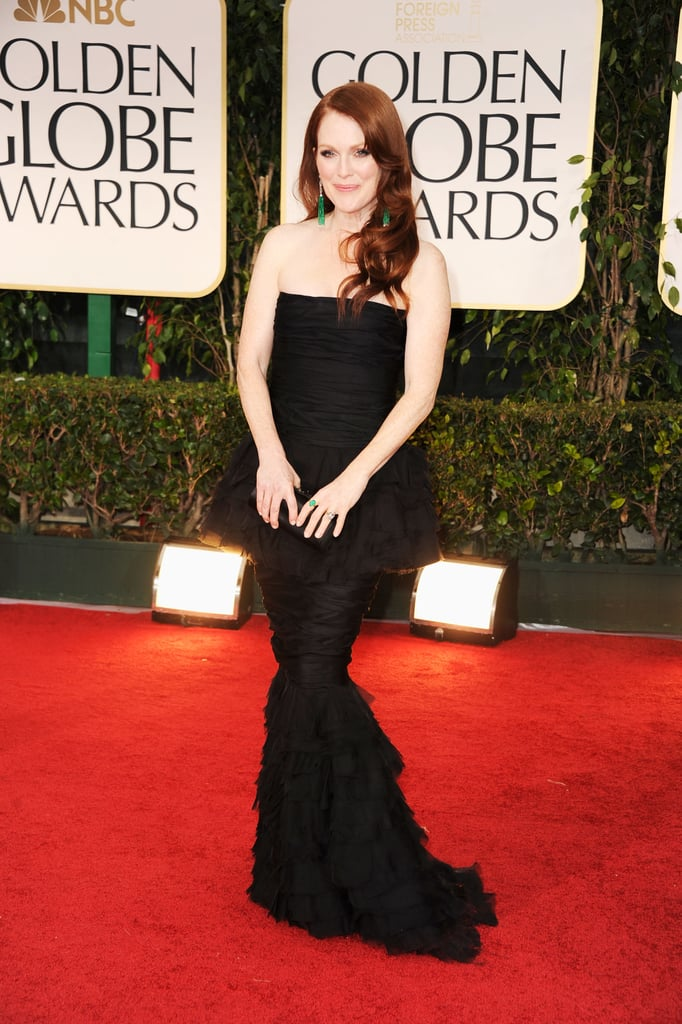 Julianne Moore at the Golden Globes.