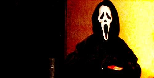 You Get Hit On by Someone in a Scream Mask