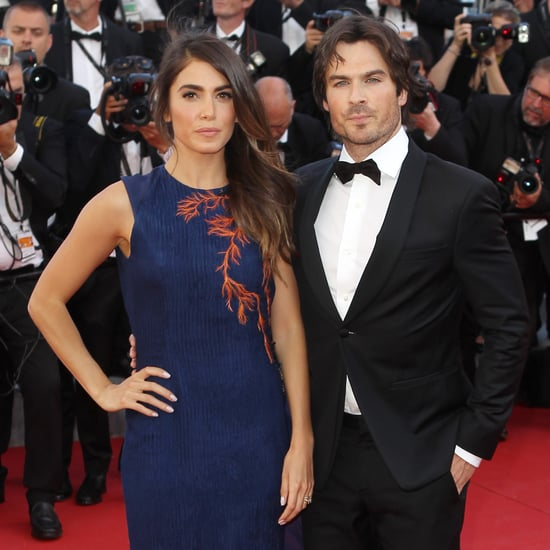 Nikki Reed and Ian Somerhalder Pictures Cannes Film Festival