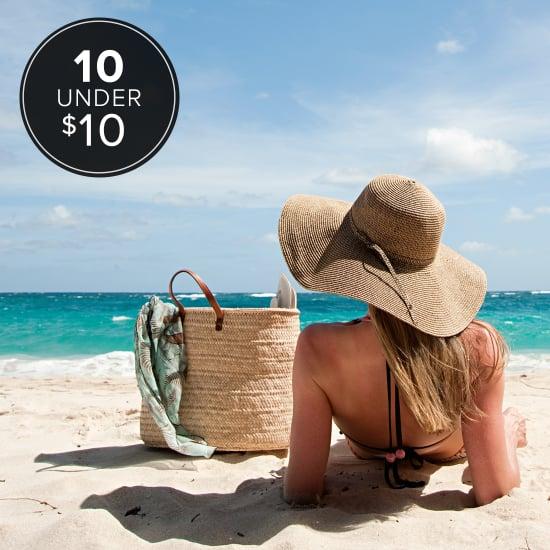 10 Under $10 Beach-Bag Essentials