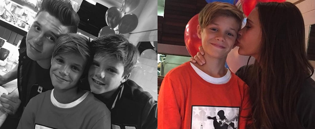 Victoria Beckham Shares a Sweet Snap of Her Sons on Romeo's Birthday
