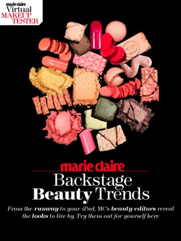 Marie Claire's Backstage Beauty Trends, $0.99