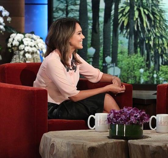 Jessica Alba'a Cutest Moments on The Ellen DeGeneres Show
